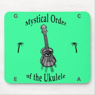 Orden mística del Ukulele Tapetes De Ratón
