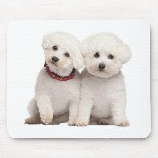 Ordenador blanco Mousepad del perro de perrito de