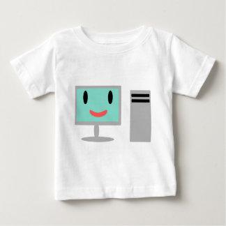 ordenador del dibujo animado t-shirt