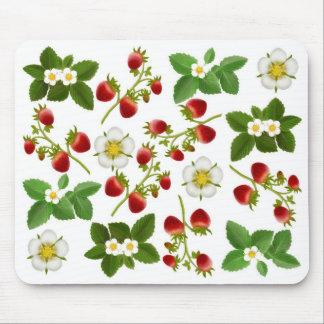 Ordenador Mousepad de las fresas salvajes
