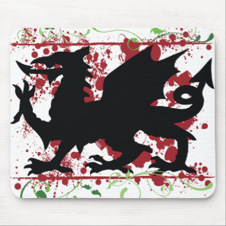 Ordenador Mousepad del dragón Galés