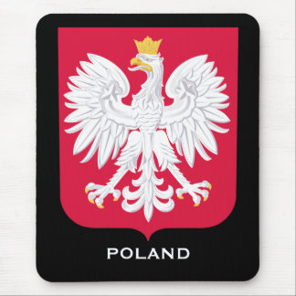 Ordenador Mousepad del escudo de armas de Polonia