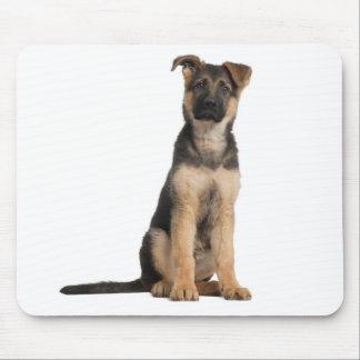 Ordenador Mousepad del perro de perrito del pastor Tapete De Raton
