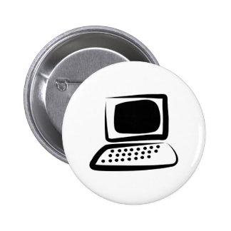 Ordenador Pin Redondo De 2 Pulgadas