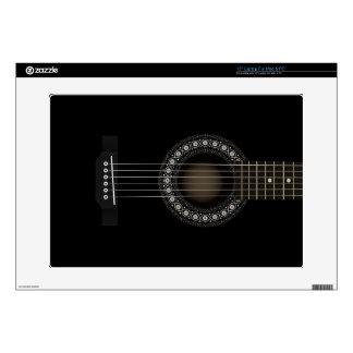 Ordenador portátil de la guitarra acústica para el 38,1cm portátil calcomanía