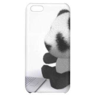ordenador portátil de la panda del bebé 3d