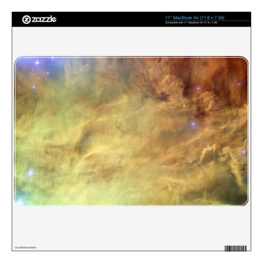 Ordenador portátil de la piel - nebulosa de la lag MacBook air calcomanía