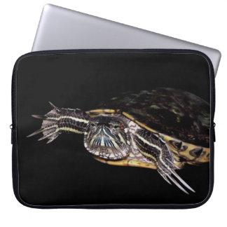 Ordenador portátil de la tortuga caso de 15 pulgad funda portátil