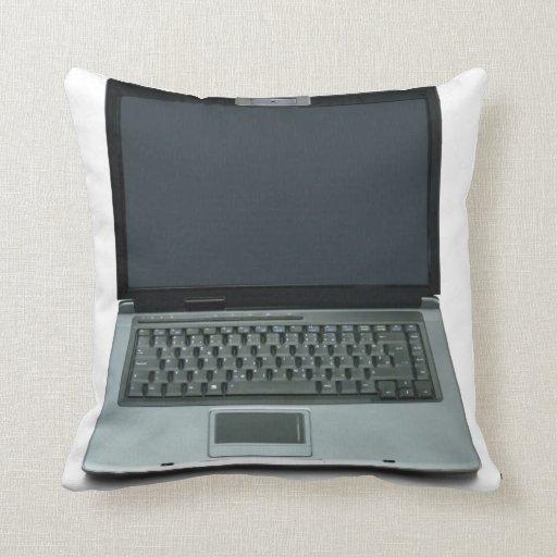 ordenador portátil de las multimedias almohada