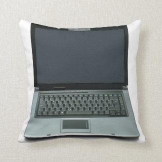 ordenador portátil de las multimedias cojín