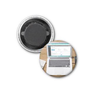 ordenador portátil imán redondo 3 cm