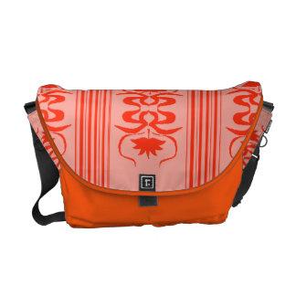 Ordenador portátil inspirado oriental del nouveau  bolsas de mensajería