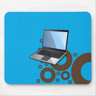 Ordenador portátil alfombrilla de ratón