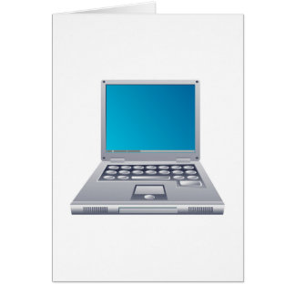 Ordenador portátil felicitaciones