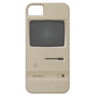 Ordenador retro de la PC de la escuela vieja iPhone 5 Carcasa