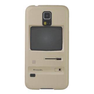 Ordenador retro de la PC del vintage fresco Funda Para Galaxy S5