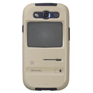 Ordenador retro Samsung S3 de la PC del vintage fr Galaxy SIII Carcasa
