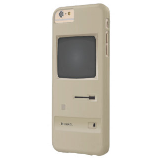 Ordenador retro viejo de la PC Funda De iPhone 6 Plus Barely There