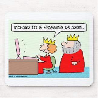 ordenador spamming el rey de la reina de Richard i Alfombrillas De Raton