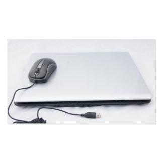 ordenador plantillas de tarjeta de negocio