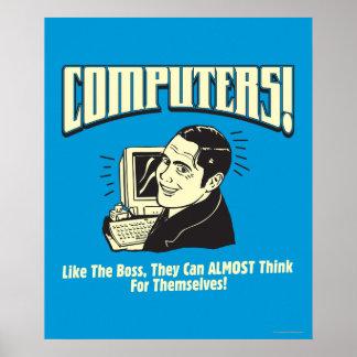 Ordenadores: Como Boss Posters