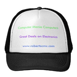 Ordenadores de la manía del ordenador, granes ofer gorros