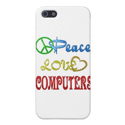 ORDENADORES DEL AMOR DE LA PAZ iPhone 5 CÁRCASA