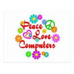 Ordenadores del amor de la paz postal