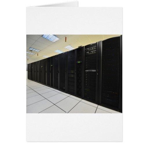 ordenadores del centro de datos felicitacion