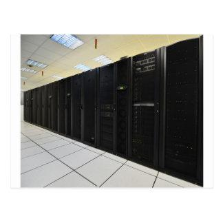 ordenadores del centro de datos postales