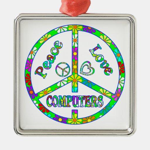 Ordenadores del signo de la paz ornatos