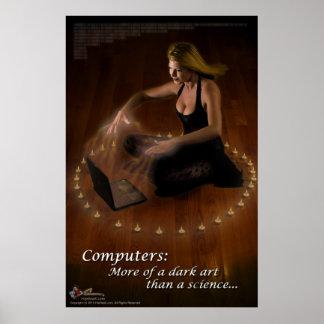 Ordenadores Más de un arte oscuro… Poster