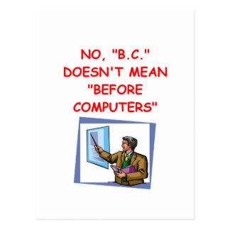 ordenadores postales