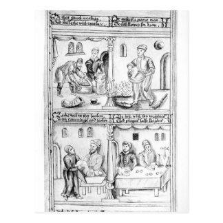 Ordenanza de los panaderos de York, 1595-96 Postales