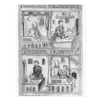 Ordenanza de los panaderos de York, 1595-96 Postal