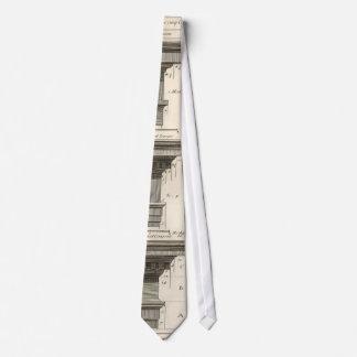 Órdenes de la arquitectura, Entablatures del Corbatas Personalizadas