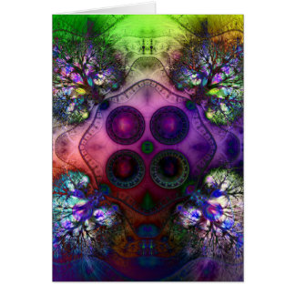 Order at the Root of All Chaos V1 Greeting Card