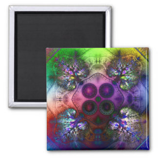Order at the Root of All Chaos V1  Magnet (Square)