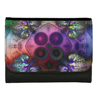 Order at the Root of All Chaos V1 Medium Leather Women's Wallet