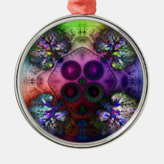 Order at the Root of All Chaos V1 Ornament P-Round