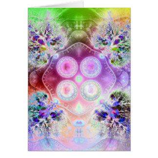 Order at the Root of All Chaos V3 Greeting Card