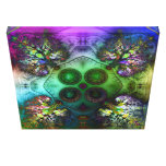 Order at the Root of All Chaos V4 Wrapped Canvas Canvas Print