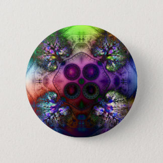 Order at the Root of All Chaos V 1  Button (Round)