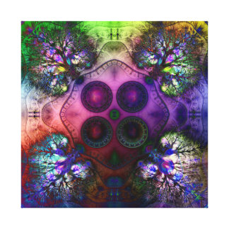 Order at the Root of All Chaos V 1  Wrapped Canvas