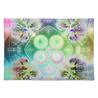 Order at the Root of All Chaos V 2 Cloth Placemat
