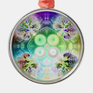 Order at the Root of All Chaos V 2 (Premium Round) Metal Ornament