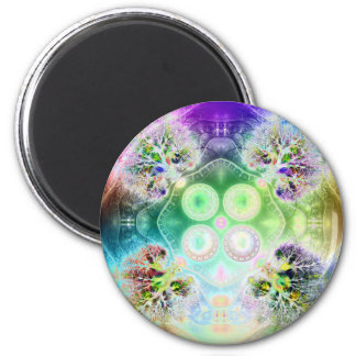 Order at the Root of All Chaos V 2  (Round) Magnet
