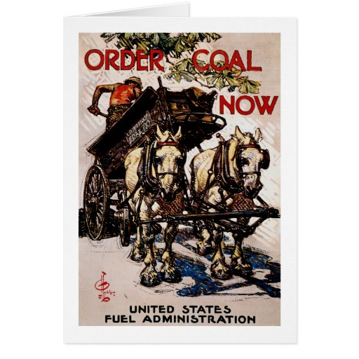 Order Coal Now Cards