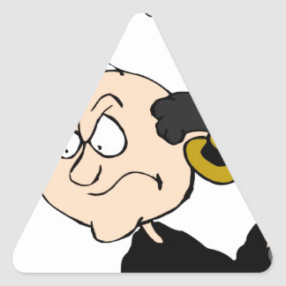 Order in the Court Triangle Sticker