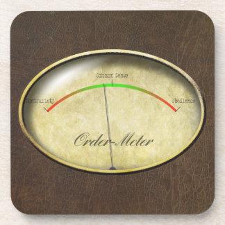 Order-Meter Coaster